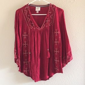 Knox Rose embroidered blouse